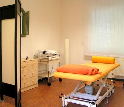 behandlungsr ume casa medendi sport physiotherapie und krankengymnastik. Black Bedroom Furniture Sets. Home Design Ideas